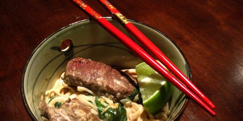 Ravenous Thai Beef with Udon