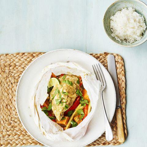 thai chicken parcel