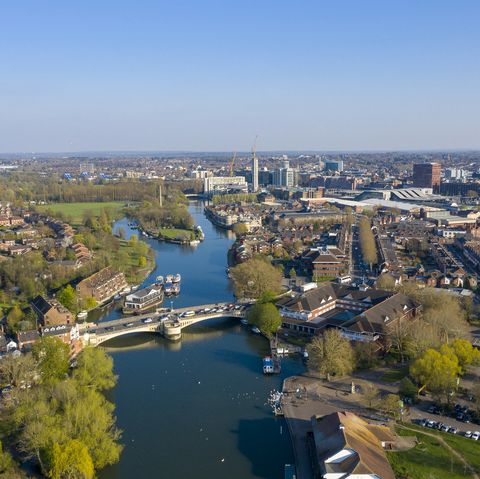 Thames River in Reading