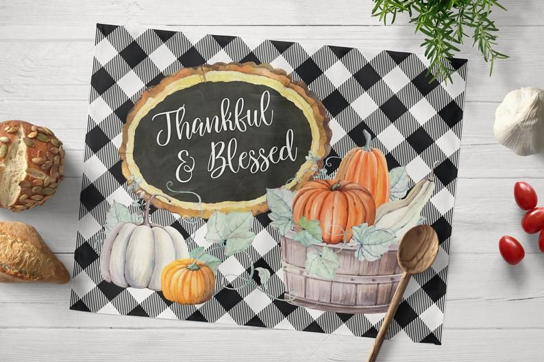 15 Best Thanksgiving Placemats That Will Dazzle All Your Guests