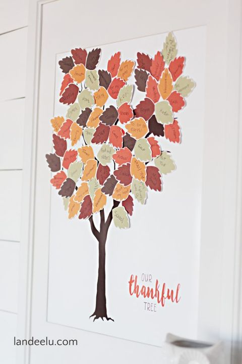 10 Best Diy Thanksgiving Tree Ideas How To Make A Thankful Tree