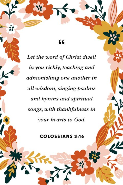 thankfulness verses