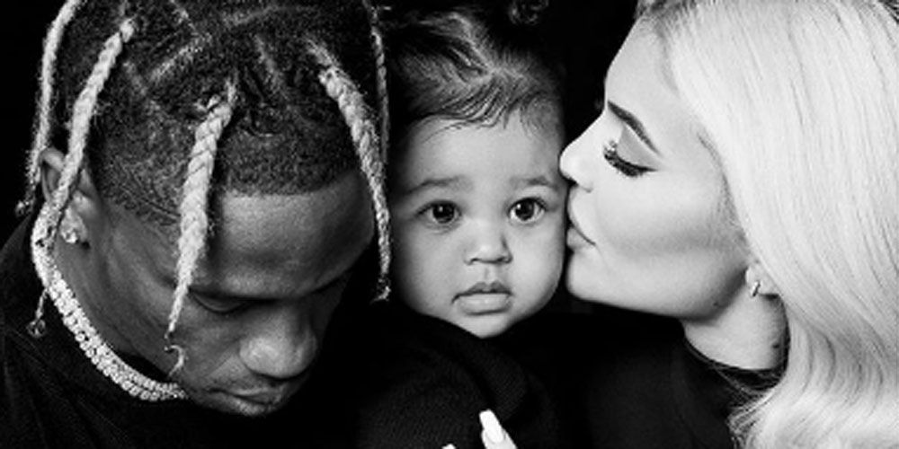 Kylie Jenner just shared a rare family portrait of herself