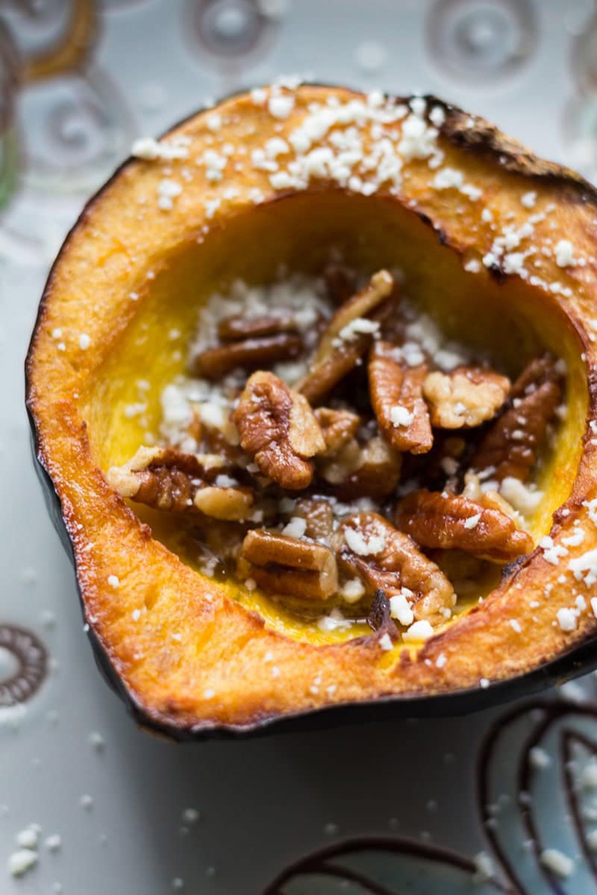 thanksgiving acorn squash maple butter