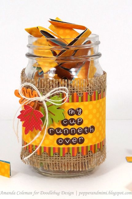 thanksgiving activity gratitude jar