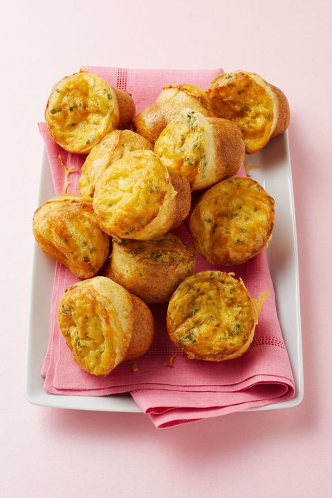 thanksgiving appetizers mini cheese popovers