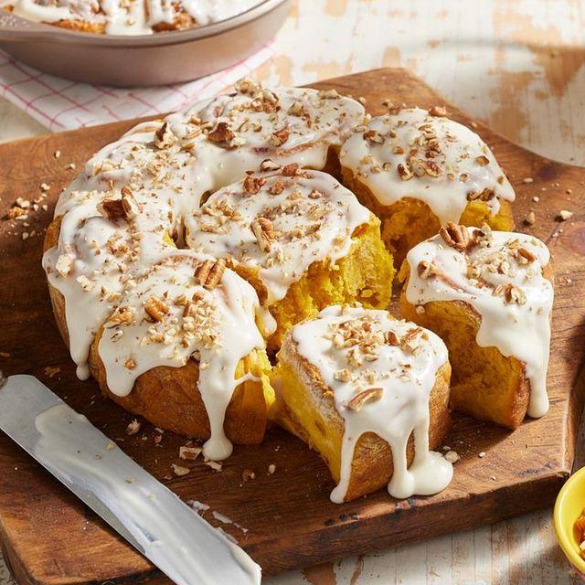thanksgiving breakfast recipes cinnamon rolls