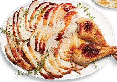brined honey thyme turkey