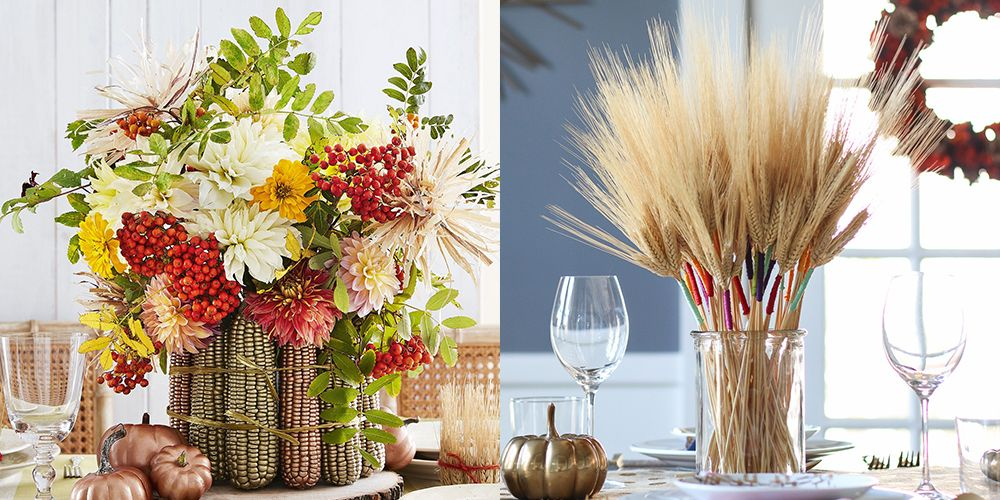 31 Easy Thanksgiving Centerpieces For Your Holiday Table   DIY Thanksgiving Table  Decoration Ideas
