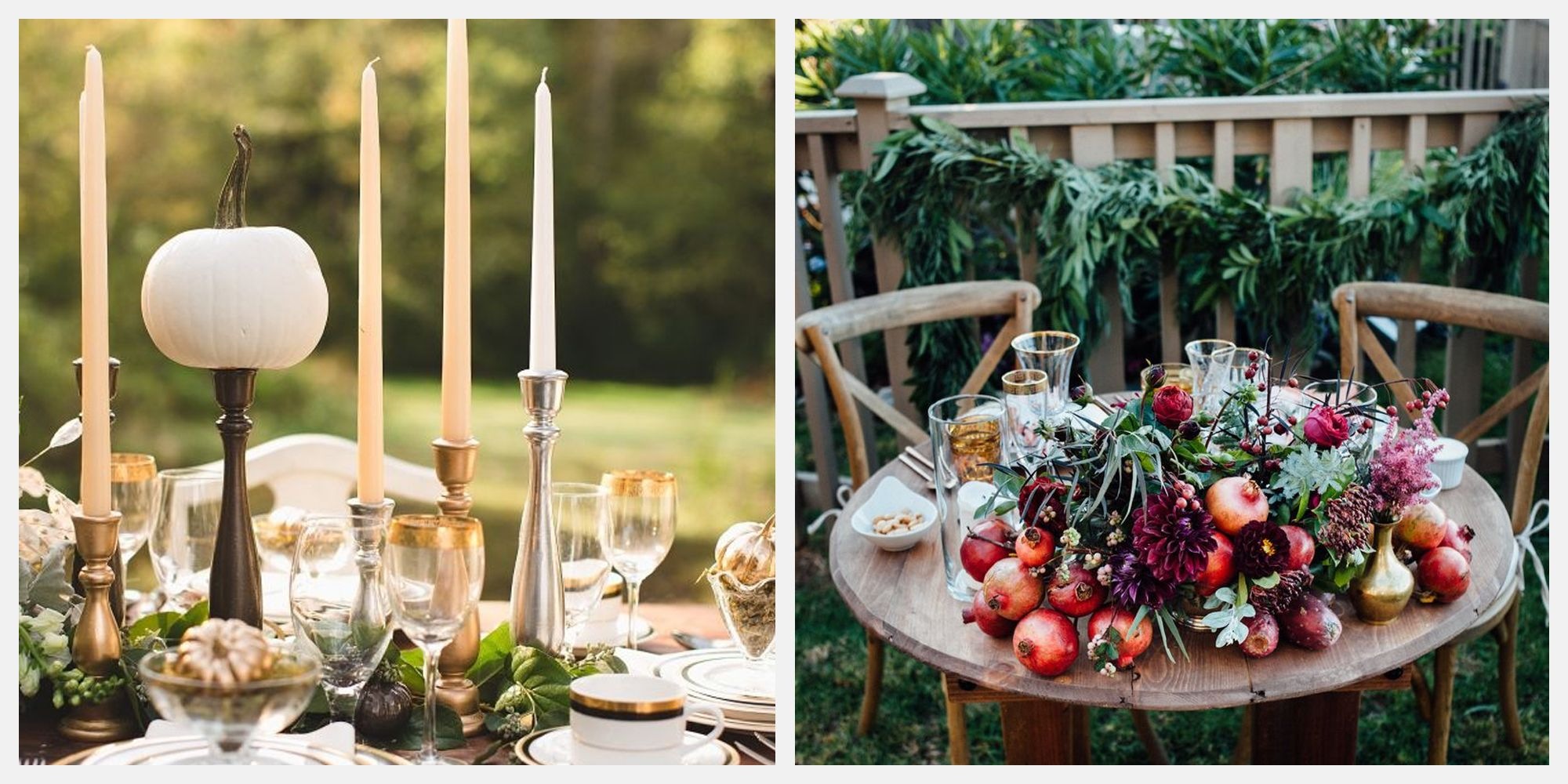 25+ Thanksgiving Centerpiece Ideas to Inspire a Chic Holiday Dinner