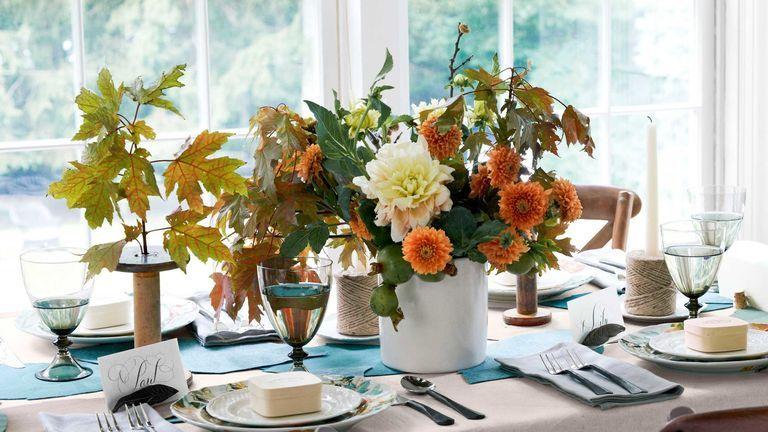 65 DIY Thanksgiving Centerpieces , Easy Thanksgiving Table Decor