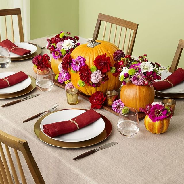 40 Easy Thanksgiving Centerpieces Diy Thanksgiving Table Decoration Ideas