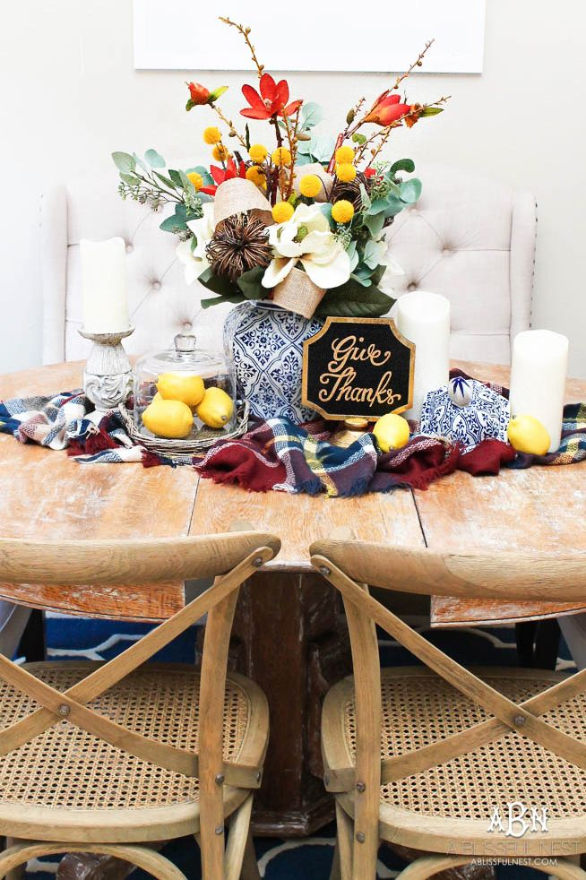 thanksgiving centerpieces give thanks