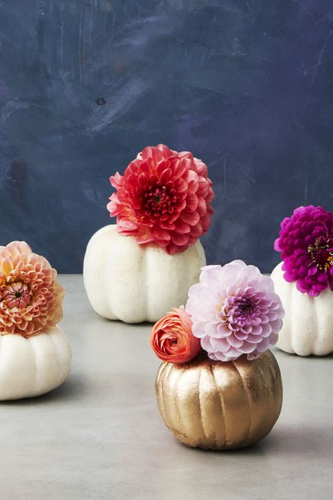 Thanksgiving Crafts for Adults - Pumpkin Pots