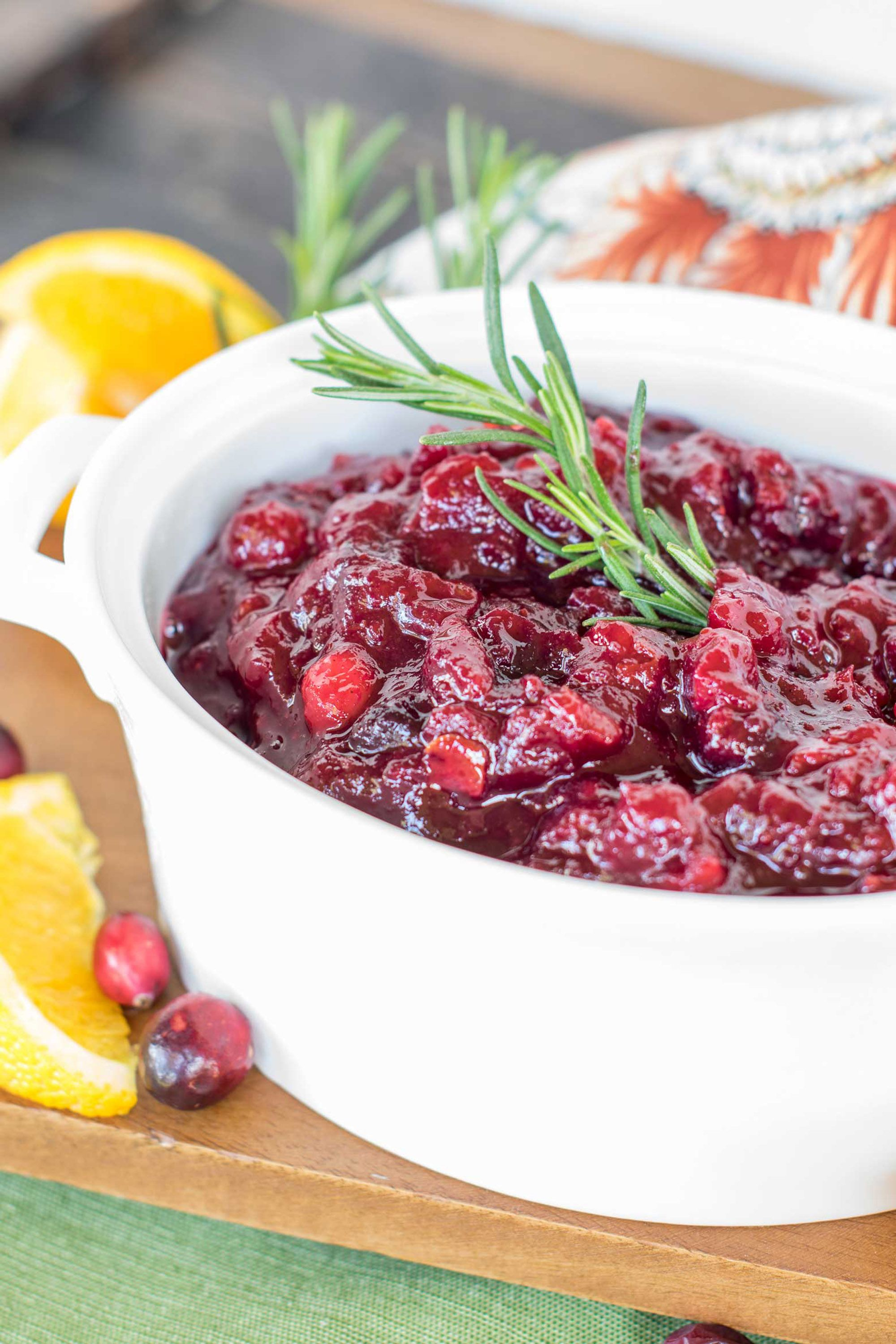 thanksgiving cranberry sauce make ahead