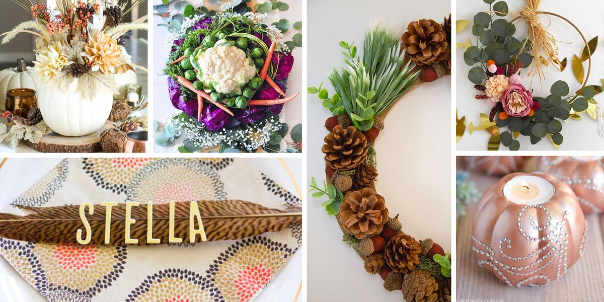 50 Pinterest-Worthy DIY Thanksgiving Decorations That Are Easy to Make