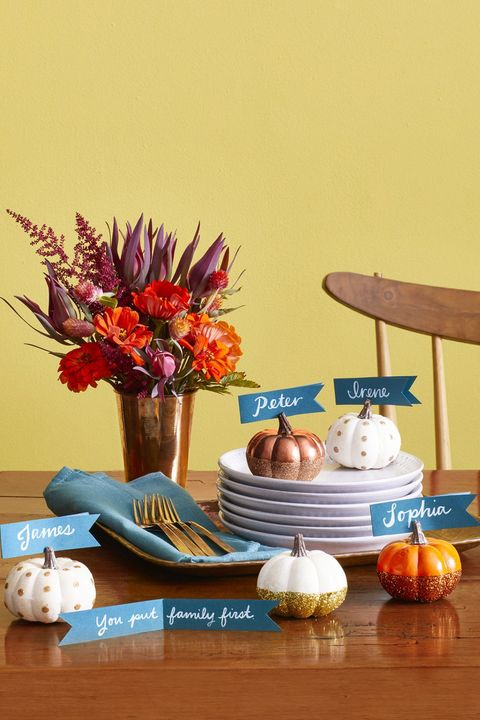 75 Easy Thanksgiving Decorations Best Ideas For Thanksgiving Decorating
