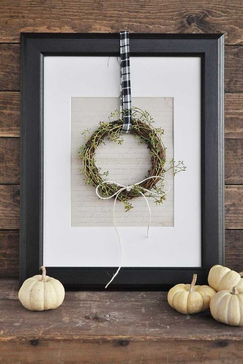 farmhouse wreath thanksgiving decorations
