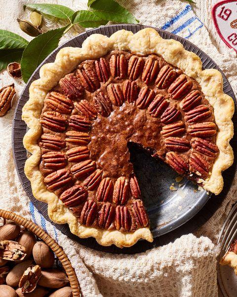 pecan brownie pie