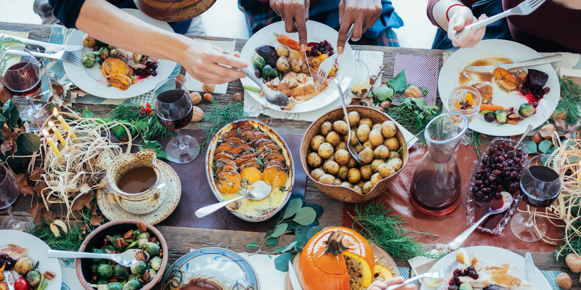 20 Best Thanksgiving Table Ideas for 2019 - Thanksgiving