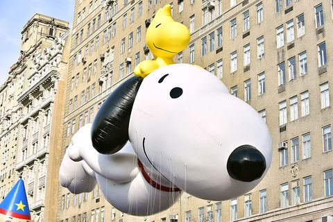 Thanksgiving Day Fun Facts - Macy's Thanksgiving Day Parade featuring Snoopy Balloon