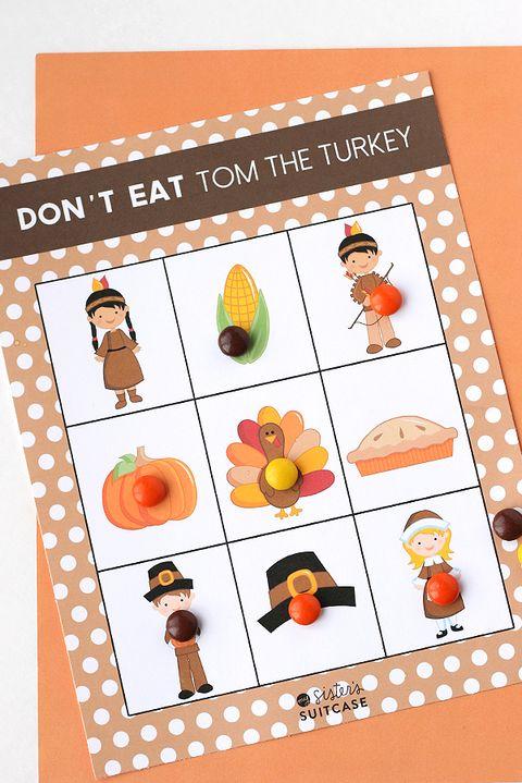 thanksgiving game don't eat tom