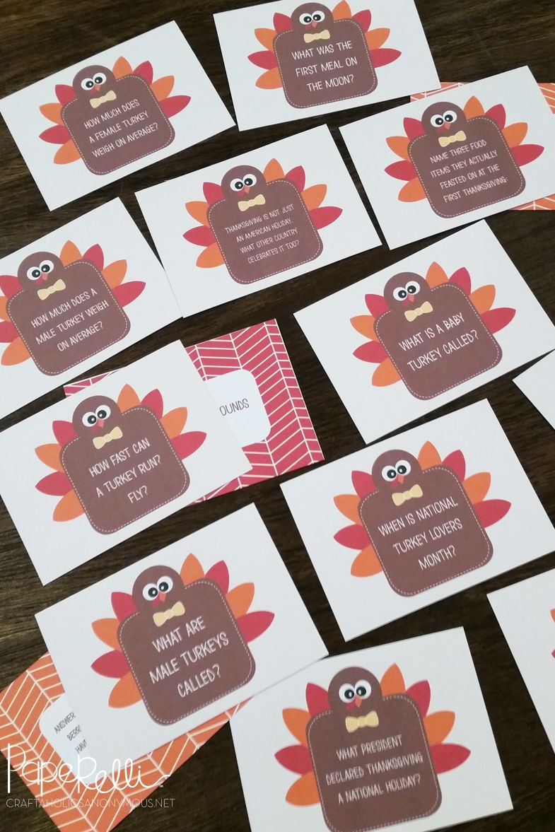 13 Fun Thanksgiving Games For Adults And Kids Best Diy Games To