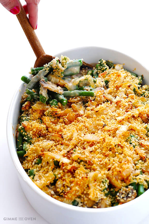 thanksgiving green bean casserole recipes healthier