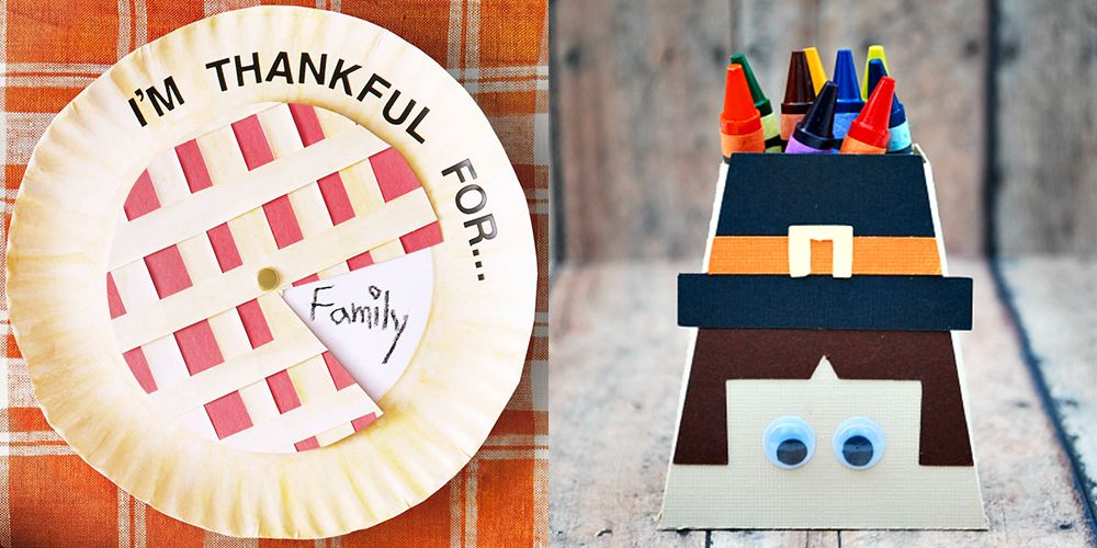 33 Easy Thanksgiving Crafts For Kids Thanksgiving Diy