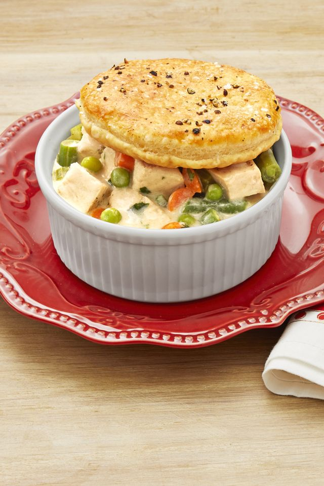 thanksgiving leftover pot pies