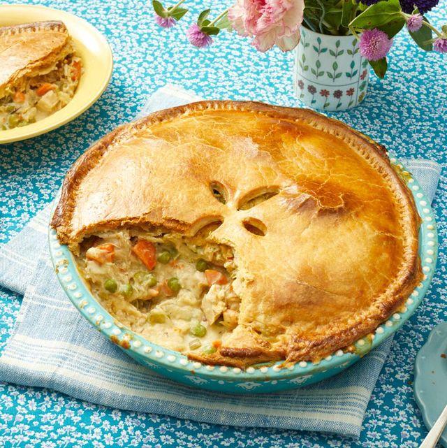 thanksgiving leftover recipes turkey pot pie