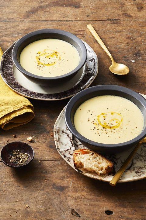 Thanksgiving Leftover Recipes - Potato Leek Soup