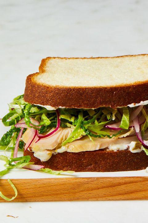 Thanksgiving Leftover Recipes - Turkey Sandwich