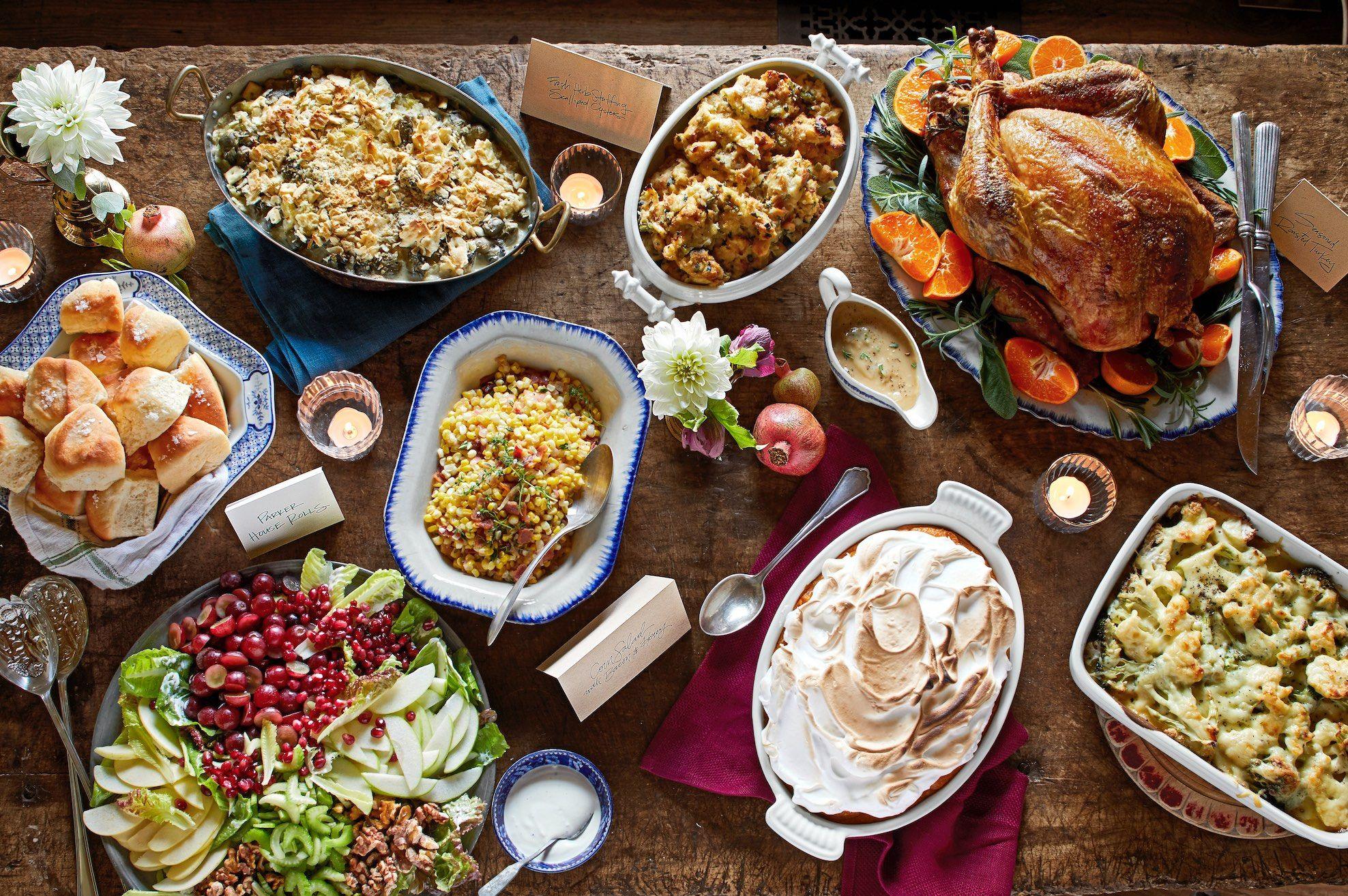 30 Best Thanksgiving Menu Ideas , Thanksgiving Dinner Menu