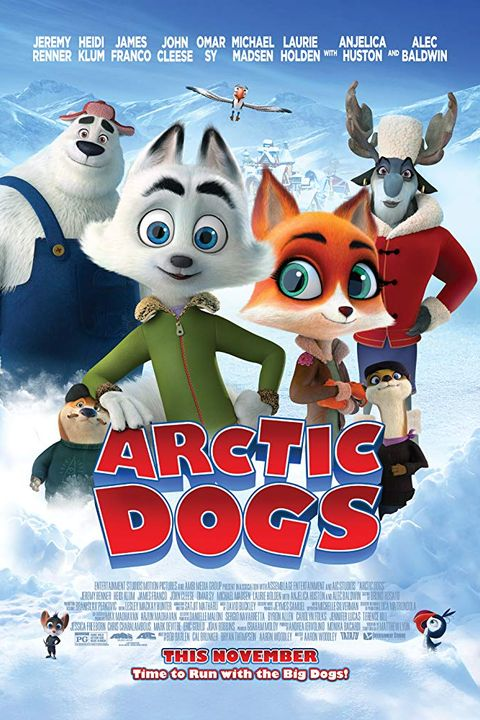 "Thanksgiving Movies 2019 Theaters – ""Arctic Dogs"""