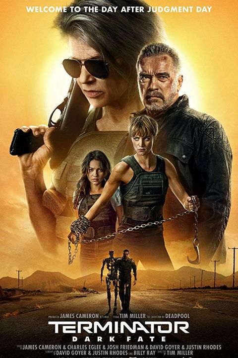 "Thanksgiving Movies 2019 Theaters - ""Terminator: Dark Fate"""