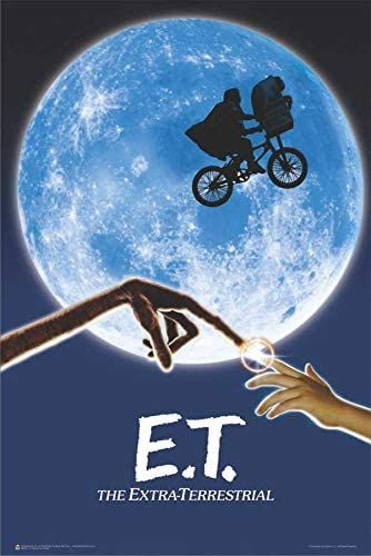a poster for the movie et the extra terrestrial