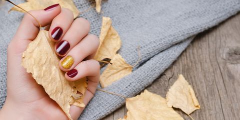 thanksgiving nail art - 20 Thanksgiving Nails - Nail Designs & Colors For Thanksgiving 2018
