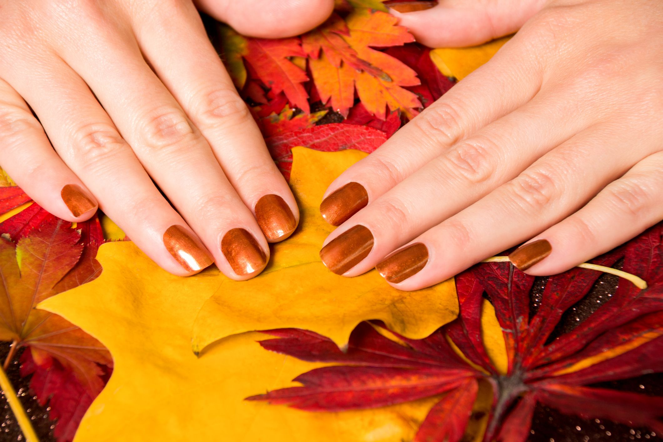 30 Best Thanksgiving Nails 2019 , Nail Designs and Colors
