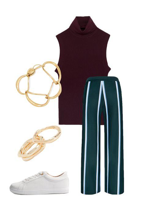 Clothing, White, Sportswear, Footwear, Sleeveless shirt, Sleeve, Uniform, Neck, Cycling shorts, Outerwear,
