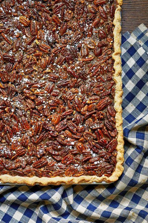 thanksgiving pies pecan slab pie