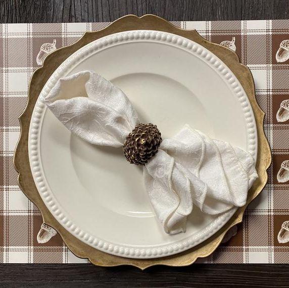 acorn placemat