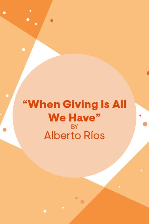 thanksgiving poem by alberto rios