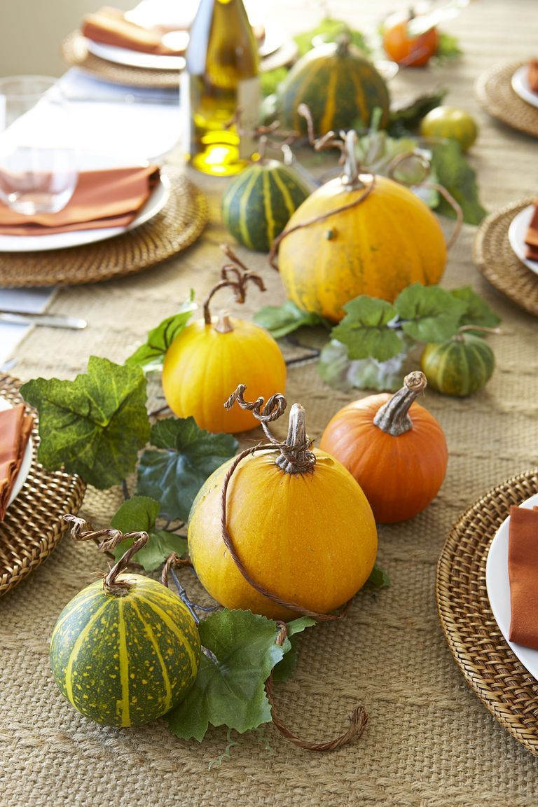 15 Cute and Simple Thanksgiving Decorations - Thanksgiving Decor 2018