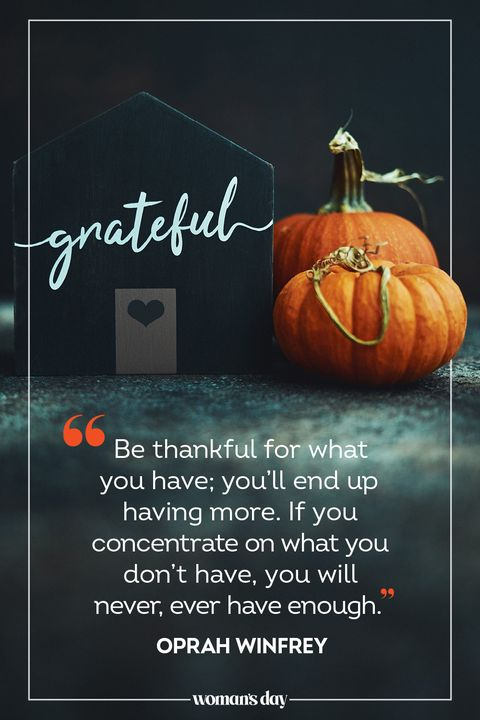 thanksgiving quotes oprah winfrey