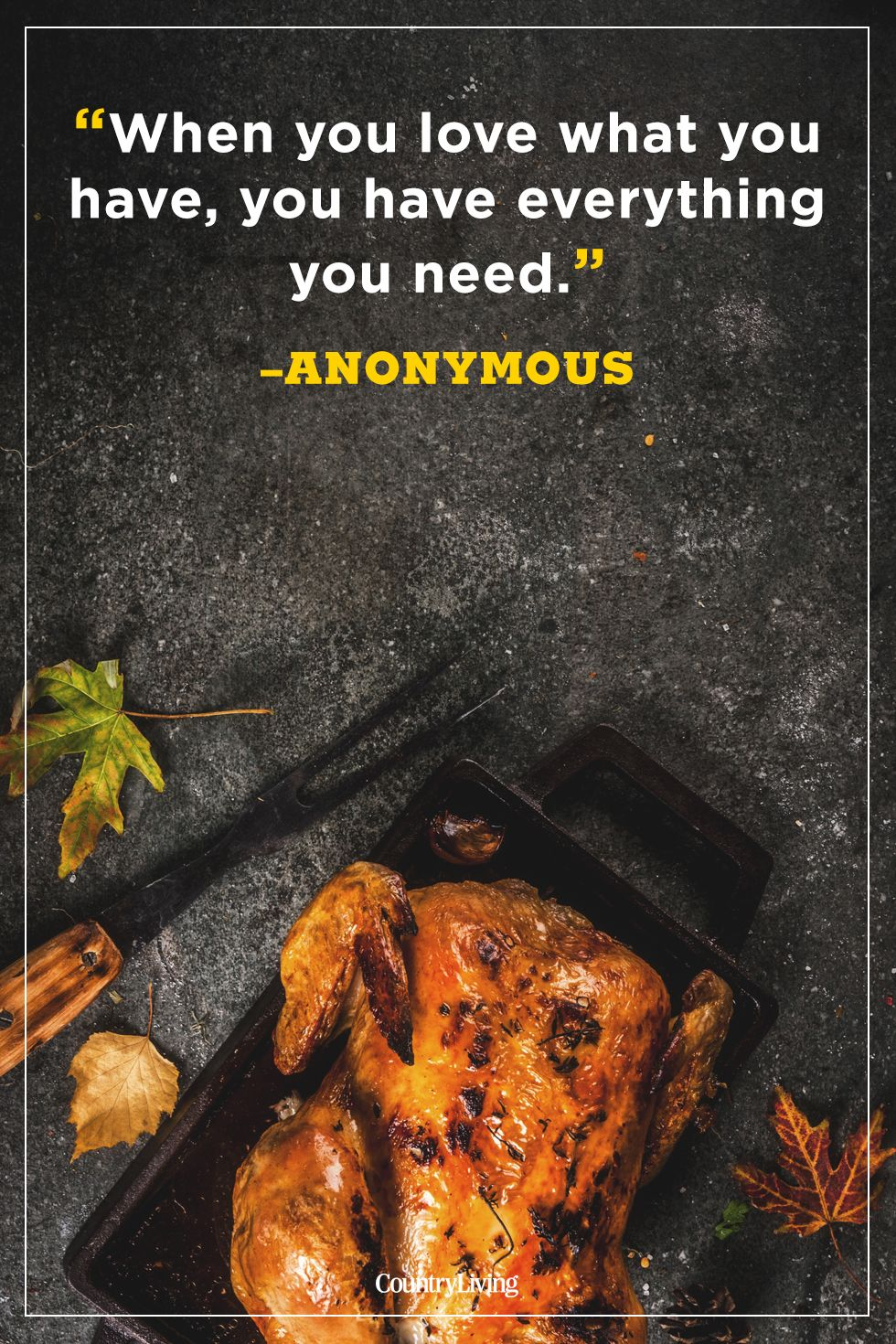 thanksgiving quotes anonymous