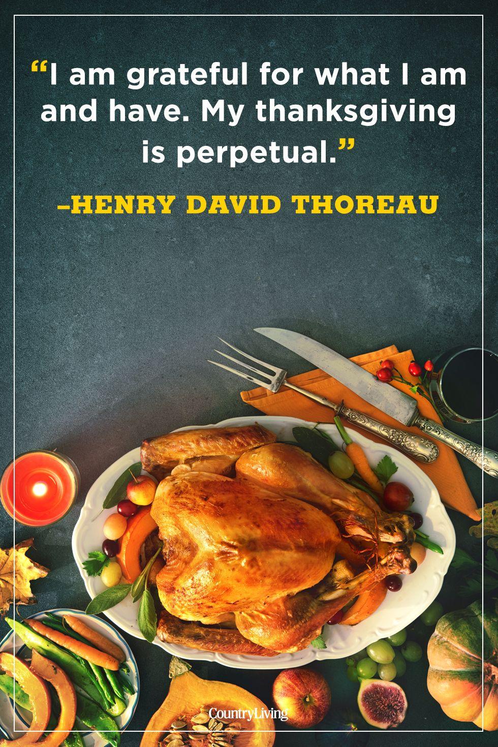 thanksgiving quotes hendry david thoreau