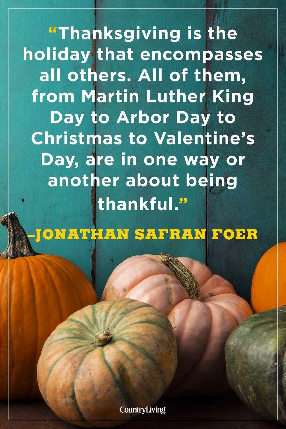 thanksgiving quotes jonathan safran foer