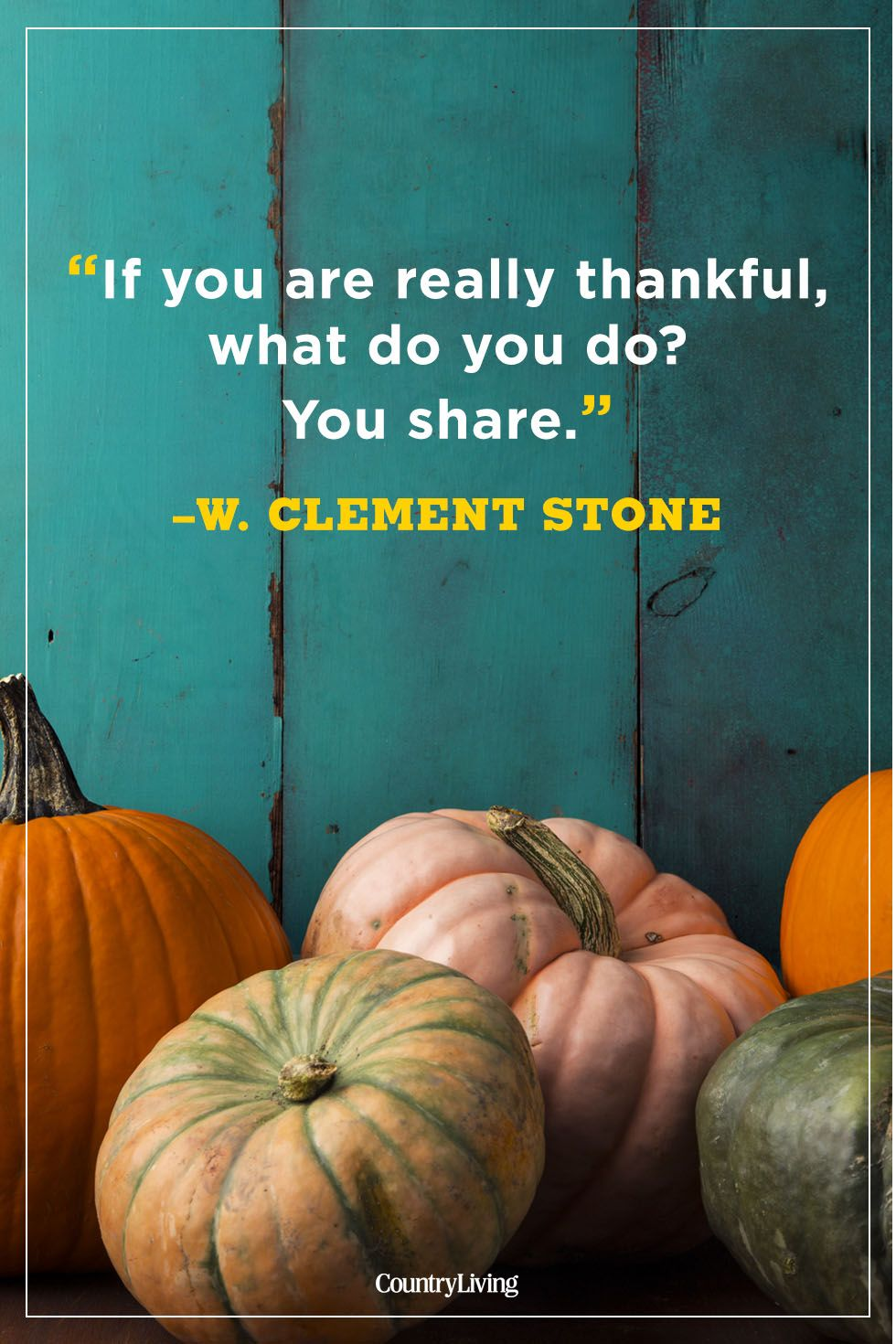 thanksgiving quotes w. clement stone
