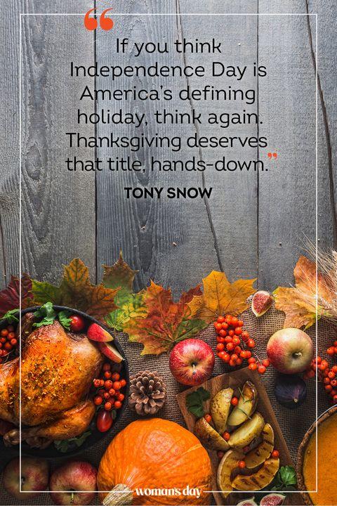 thanksgiving quotes tony snow
